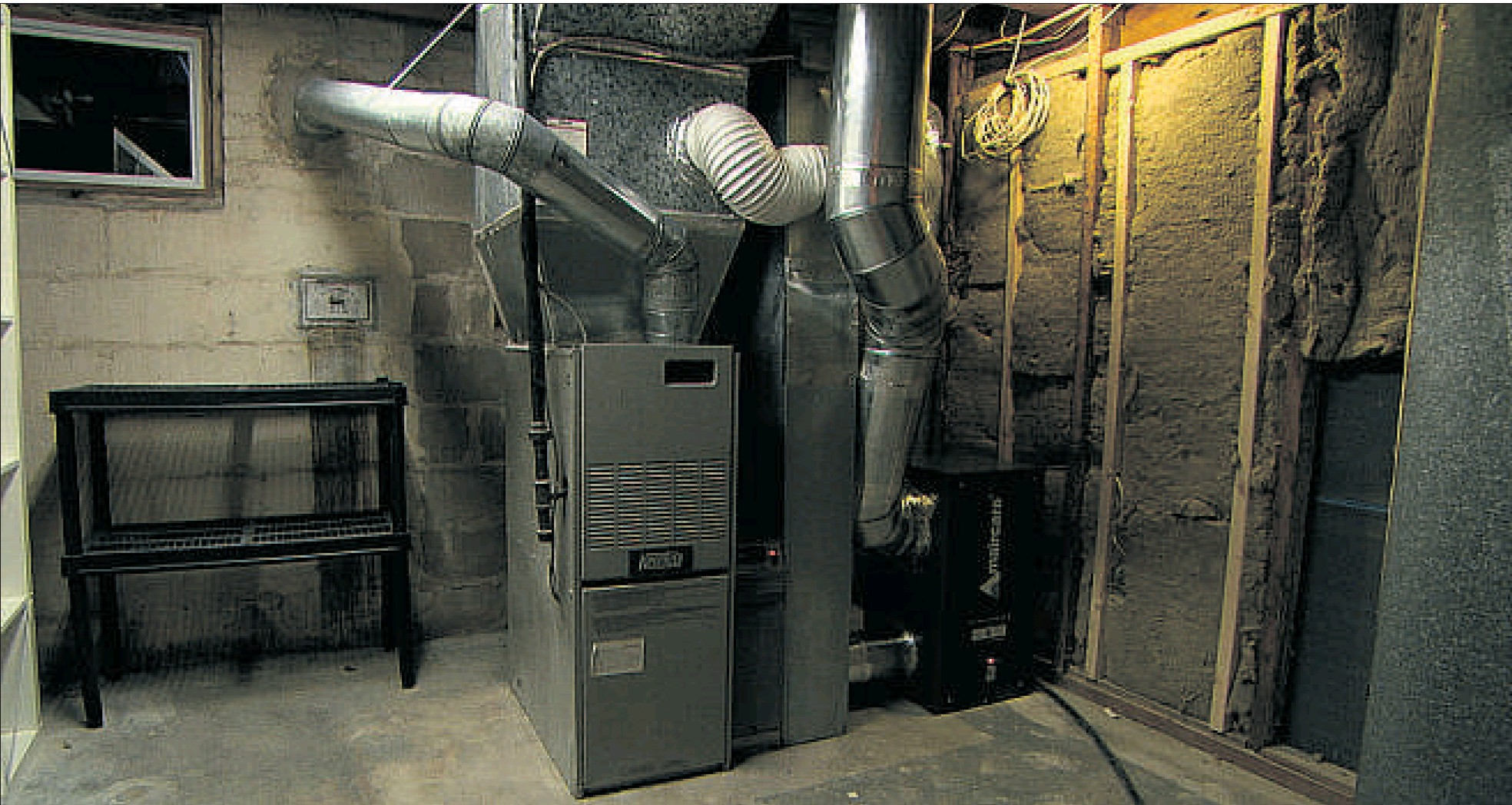 Furnace Air Ducts : Air conditioning sunset
